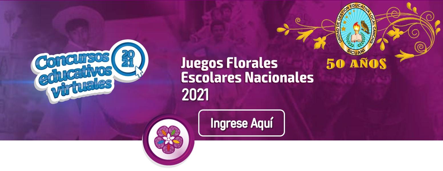 Read more about the article Resultados Finales de los Juegos Florales Escolares Nacionales 2021