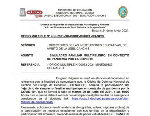 COMUNICADO CONTRATA DOCENTE NIVEL PRIMARIO Y SECUNDARIO 2021 (1_)
