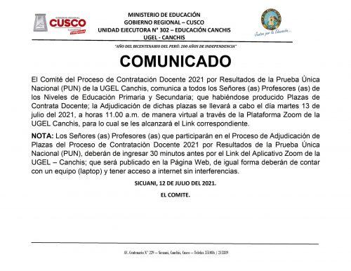 CONTRATA DOCENTE 2021 - WMVC.