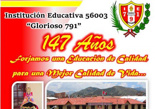 PROGRAMA DE ANIVERSARIO GLORIOSO 791- 2021 - OFICIAL